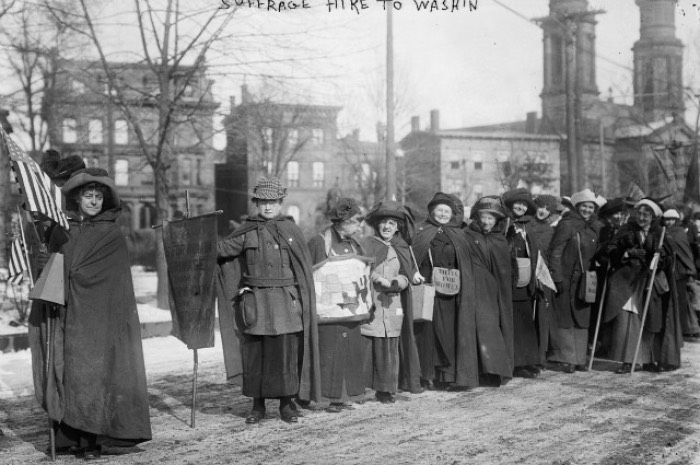1913 New York to Washington Woman Suffrage Procession - 234 miles in 17 days