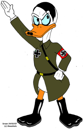 Adolf Hitler duck by Shenziholic