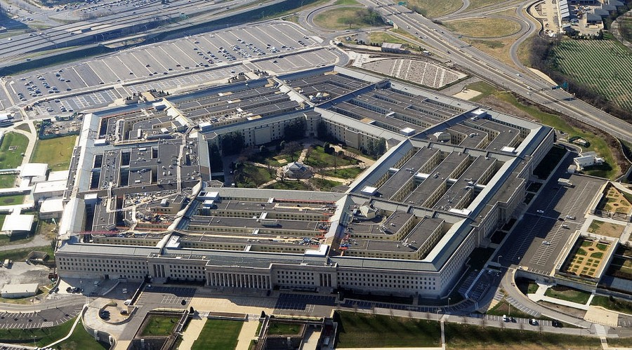 Aerial view of the Pentagon. © AFP : AFP