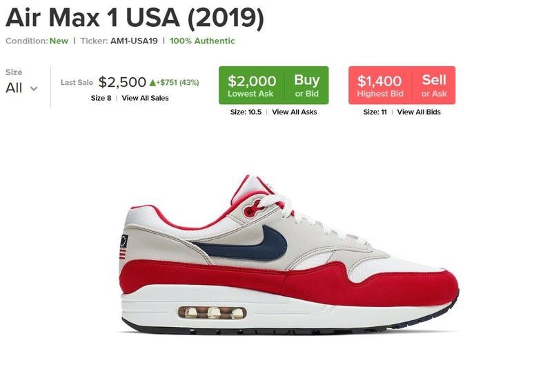 AirMax 1 now only 2 grand