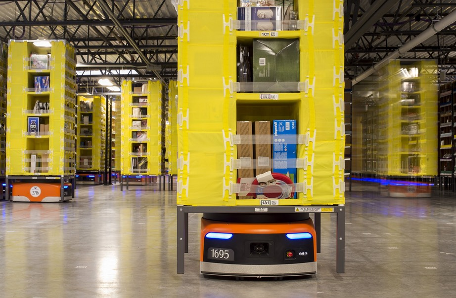 Amazon's robot army has grown by 50% - Business Insider