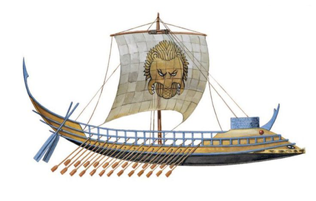 ancient Minoan ship