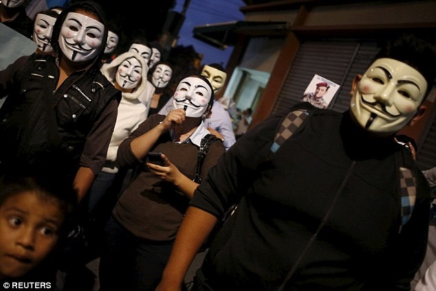 Anonymous, a decentralized group that grew out of the imageboard 4chan in the 2000s, says it wants to spread 'information and facts the government doesn't want you to know' -Reuters
