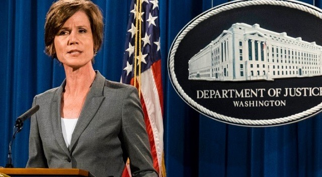 Attorney General Sally Yates