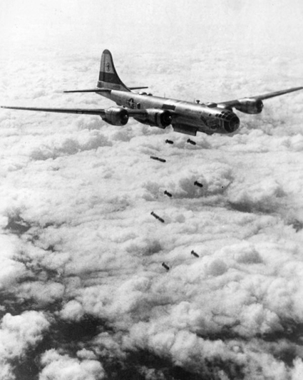 B-29s bombing North Korea ...