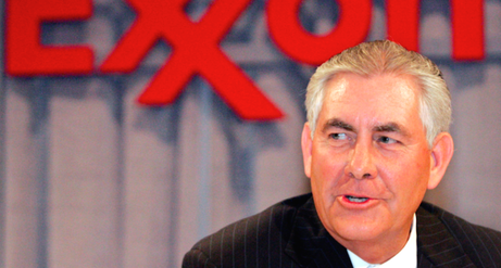 Chairman and chief executive officer Rex W. Tillerson -rawstory.com