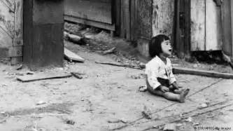 Child of the Korean War 1950-1953. - STR AFP Getty