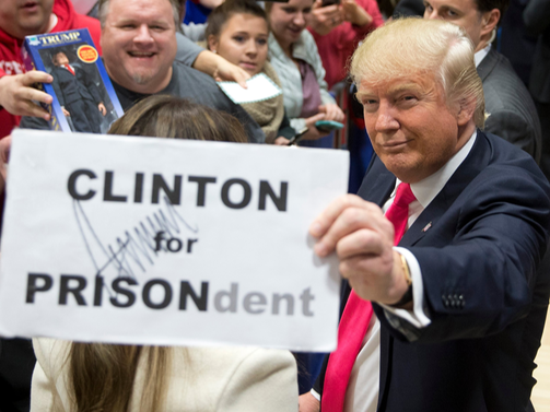 Clinton For Prisondent