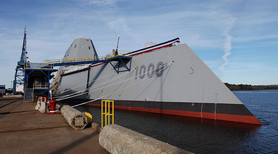 DDG 1000, U.S. Navy's Zumwalt Class of multi-mission guided missile destroyer © Reuters