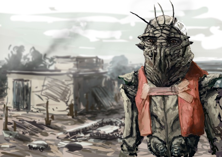 District 9 art