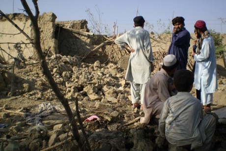 drone attack near Miranshah, Pakistan Oct 08 -Reuters Haji Mujtaba