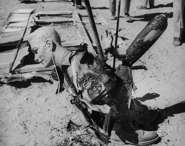 How many more dummies will follow this dummy caught in 1995 Nevada atomic test? -Lifee