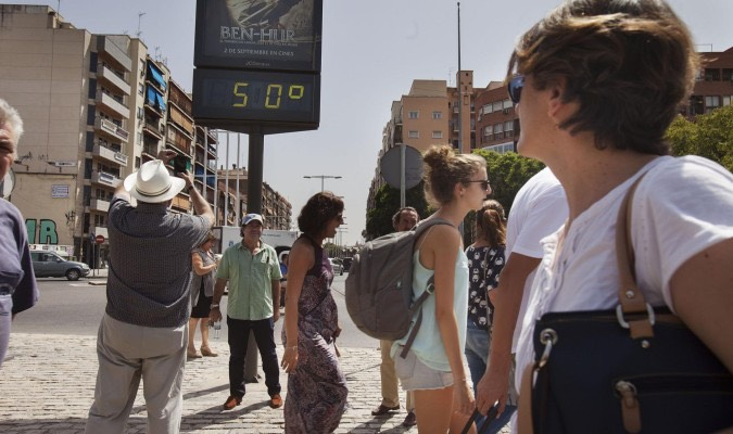 Extreme heat, Spain -theapricity.com