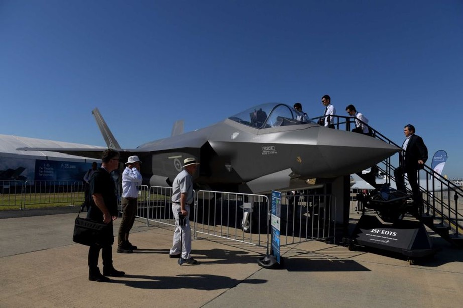 F-35 for Sale. Take one home today! - Tracey Nearmy:AAP