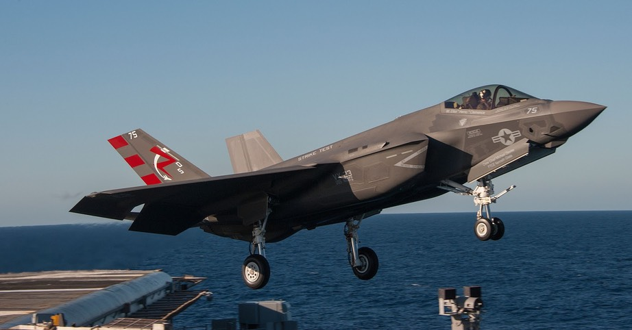 F-35C is out to launch
