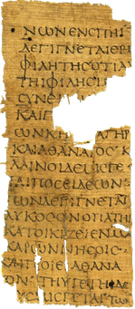 fragment of Atlantis by Hellanicus of Lesbos