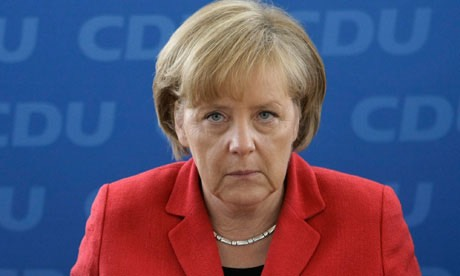 German Chancellor Angela Merkel slams travel ban