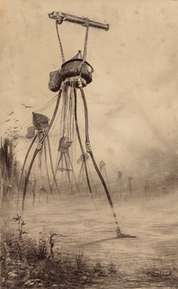 Horrifying 1906 Illustrations of H.G. Wells' War of the Worlds