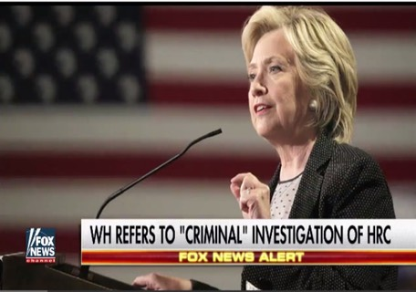 House Confirms 'Criminal Investigation' Into Hillary Clinton Emails