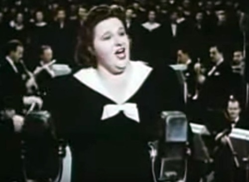 "Kate Smith Introduces ""God Bless America"" - November 10, 1938"