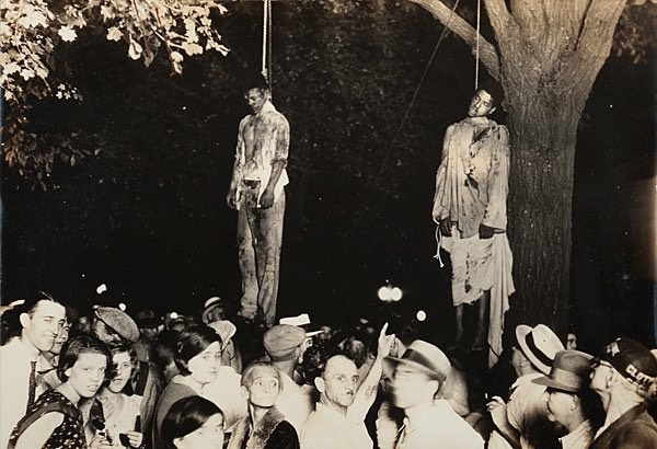 Klan-racist-lynching-festivities