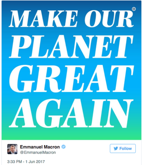 Make-Our-Planet-Great-Again -Macron