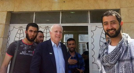 McCain champions his ISIS friends