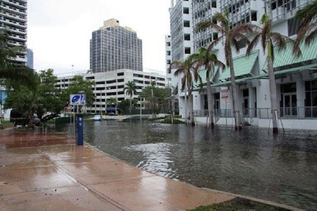 Miami-Dade sea-level rising