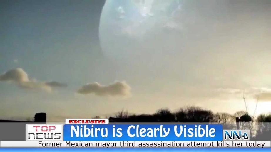 Nibiru is clearly visible