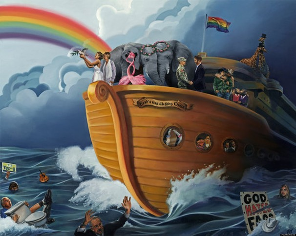 'Noah's Gay Wedding Cruise'