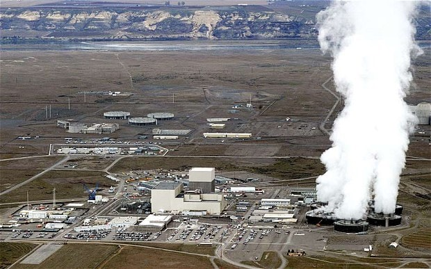 """Normal"" venting of Hanford nuclear storage tanks -AFP:GETTY IMAGES"