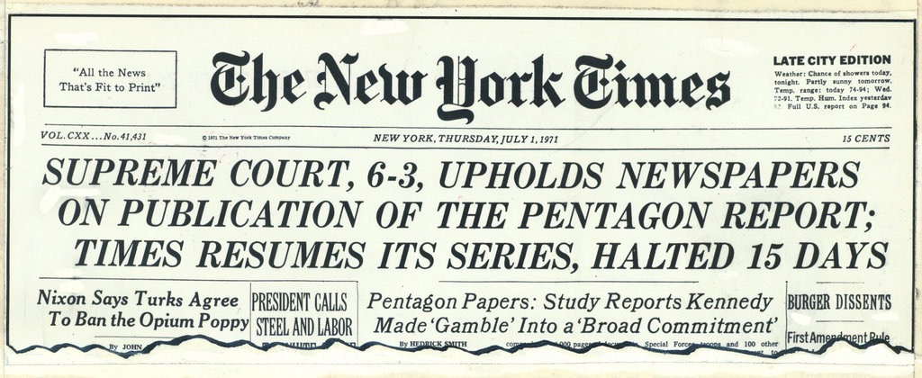 Pentagon Papers -NYT