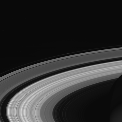 Ringscape - one of final images : NASA:JPL-Caltech:Space Science Institute
