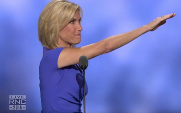 RNC Speaker Laura Ingraham Gives Nazi Salute To Donald Trump