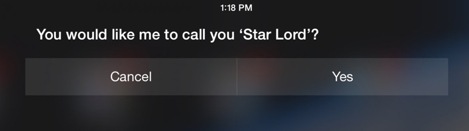 "Siri ""Star Lord"" query -Financial Post"