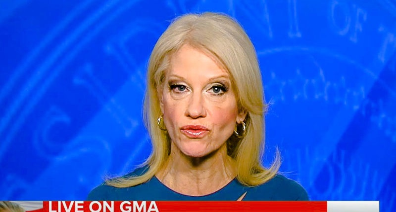 Spinning Trump Takes Conway Toll