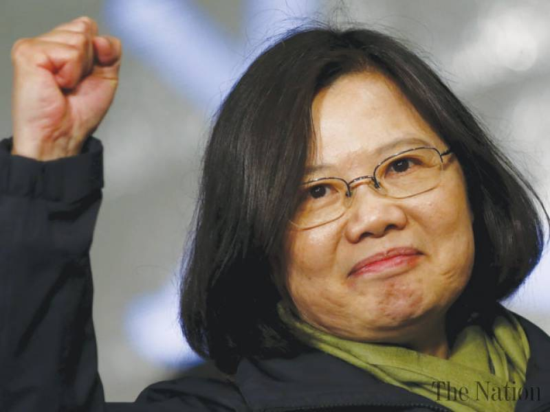 Taiwanese President Tsai Ing-wen on her landslide election victory