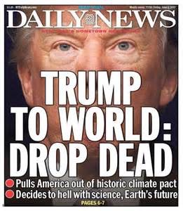 Trump-To-World-Drop Dead-Daily News
