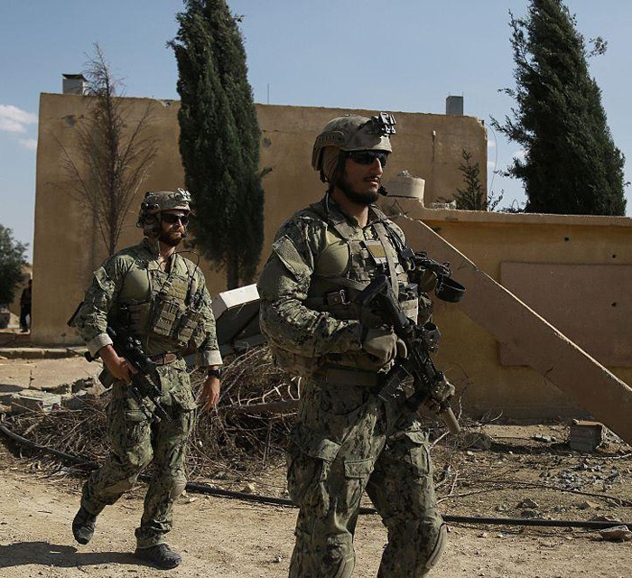 US special forces hunt Nibirunians in Raqqa, Syria -Delil Souleman -AFP Getty