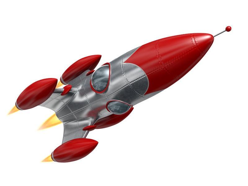 Vintage Toy Rocket